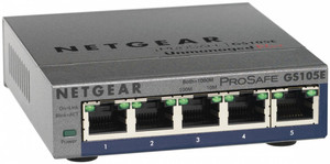 Switch 5 Ptos Netgear 10/100/1000 Gs105E