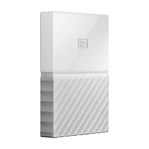 Disco Duro Ext USB3.0 2.5 3TB WD MY PASSPORT BLANCO