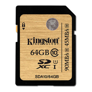 Memoria Sd 64Gb Sdxc Kingston Clase 10 Uhs-I