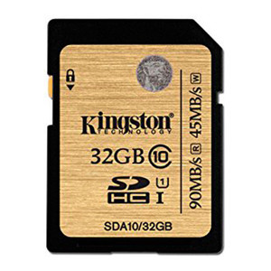 Memoria Sd 32Gb Sdhc Kingston Clase 10 Uhs-I