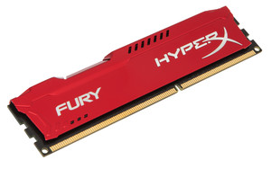 Módulo RAM DDR3 4GB PC1600 KINGSTON HYPERX FURY RED