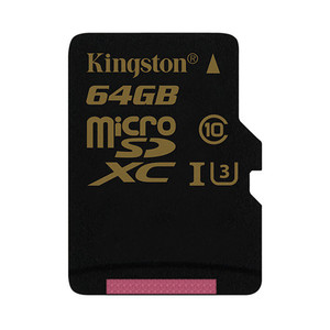 Memoria Microsd Gold 64Gb Kingston Uhs-I Cl3(U3)