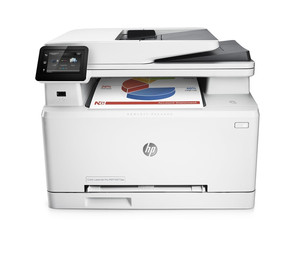 Impresora Hp Multifuncion Laserjet Color M277Dw