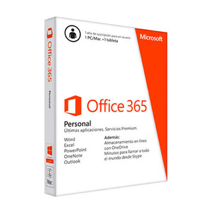 Microsoft Office 365 Personal 1 Usuario 1 Año