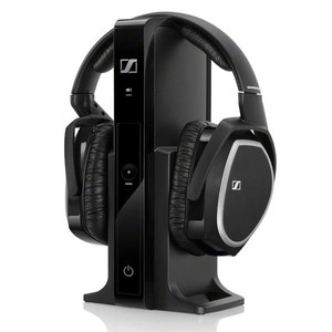 Auricular Sennheiser Rs 165 Tv Wireless Negro