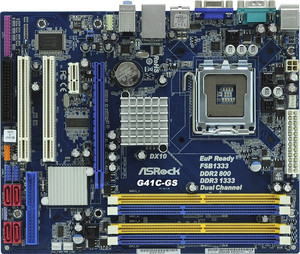 Placa Base ASROCK 775 G41C-GS R2.0
