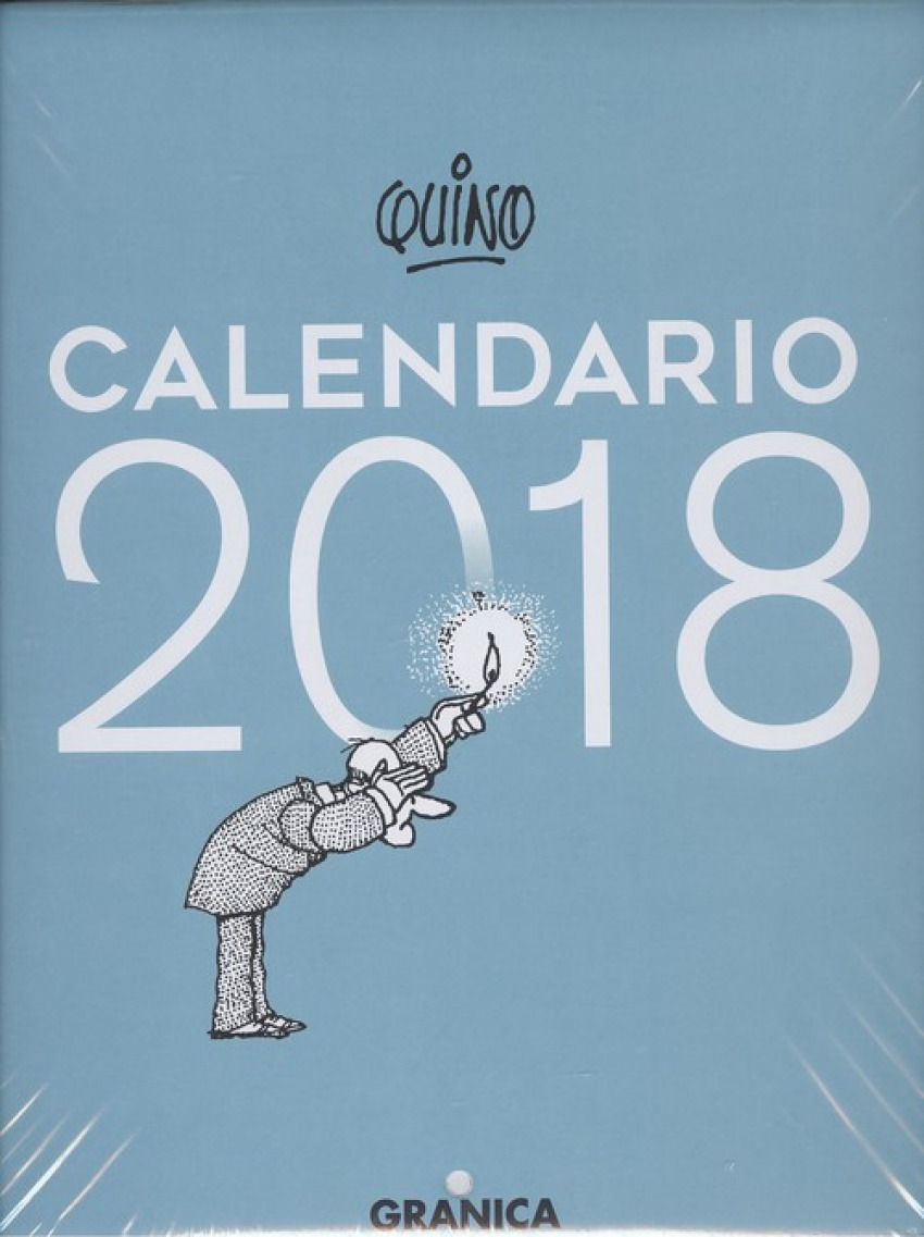 CALENDARIO 2018 QUINO PARED TURQUESA
