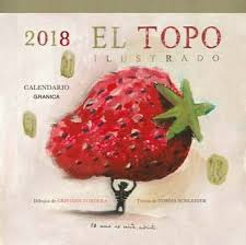 CALENDARIO PARED EL TOPO ILUSTRADO