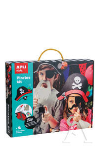 MALETA DISFRACES DE PIRATA, CREATIVE KIT