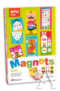 JUEGO MAGNETICO DUO ASSOCIATION BY STOCKLINA APLI