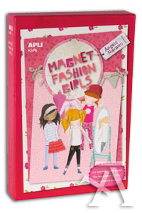 JUEGO MAGNETICO FASHION DRESS UP MAGNETS APLI