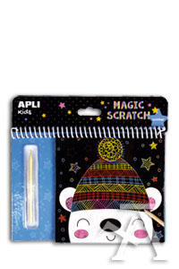 SET MAGIC SCRATCH INVIERNO INCLUYE PALITO RASCADOR