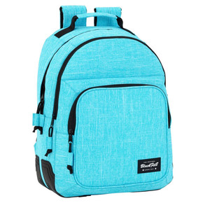 DAY PACK DOBLE ADAPTABLE A CARRO BLACKFIT8 LIGHT BLUE 32x42x15cm