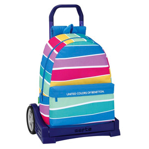 Trolley United Colors of Benetton Stripes 46cm carro Evoluti