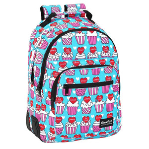 DAY PACK DOBLE ADAPTABLE A CARRO BLACKFIT8 YUMMY 32x42x15cm