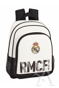 MOCHILA INFANTIL ADAPTABLE CARRO REAL MADRID 28x34x10cm