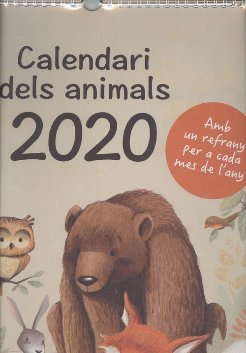CALENDARI DELS ANIMALS 2020