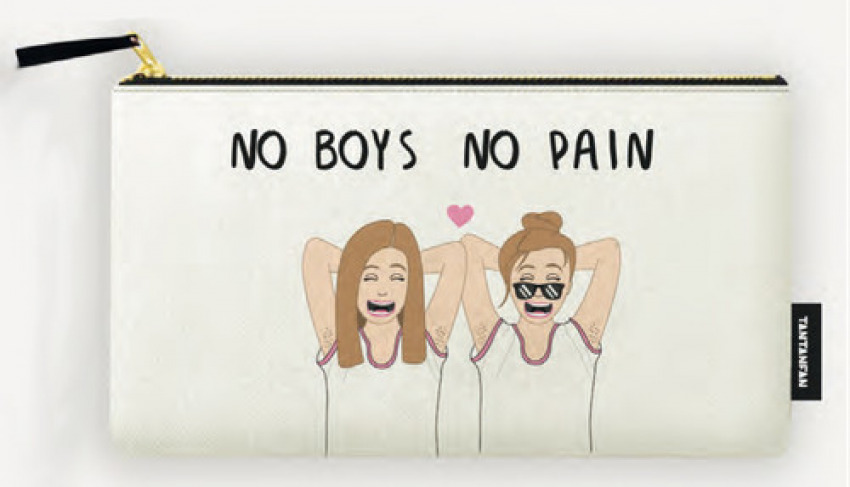 ESTUCHE NO BOYS, NO PAIN