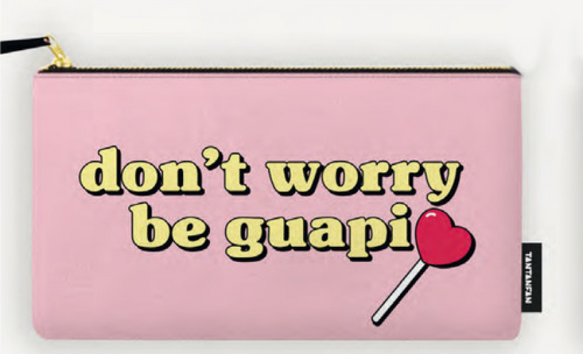 ESTUCHE LA VECINA RUBIA DON'T WORRY BE GUAPI