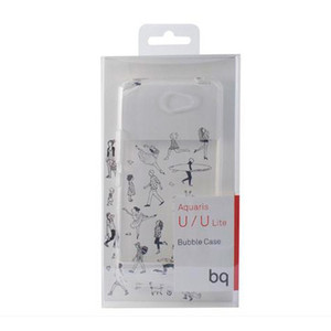 Funda Movil Bq Aquaris U/U Lite Bq Bubble Transp.
