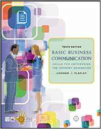 BASIC BUSINESS COMMUNICATION: SKILLS FOR EMPOWERING THE INTERNET GENERATION WITH STUDENT CD, B-COMM