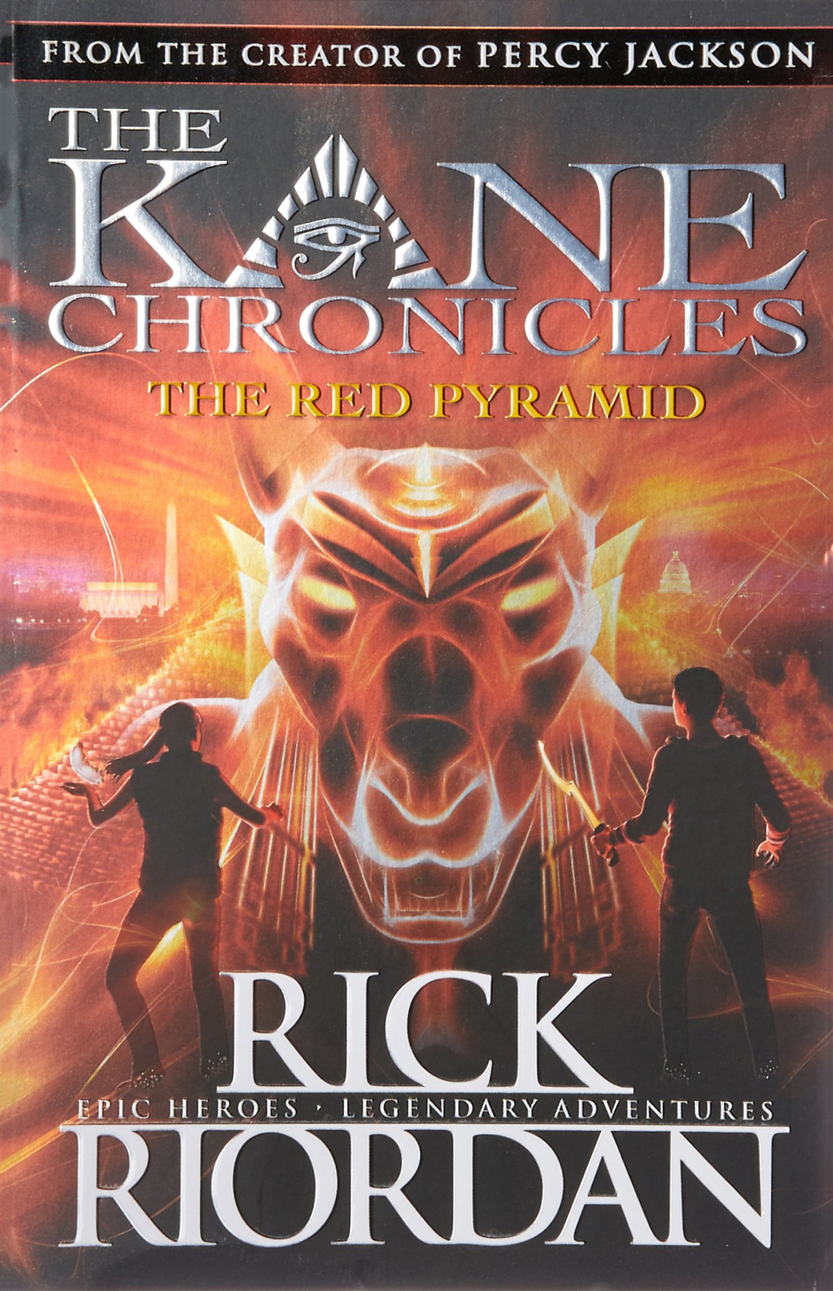 KANE CHRONICLES, THE RED PYRAMID
