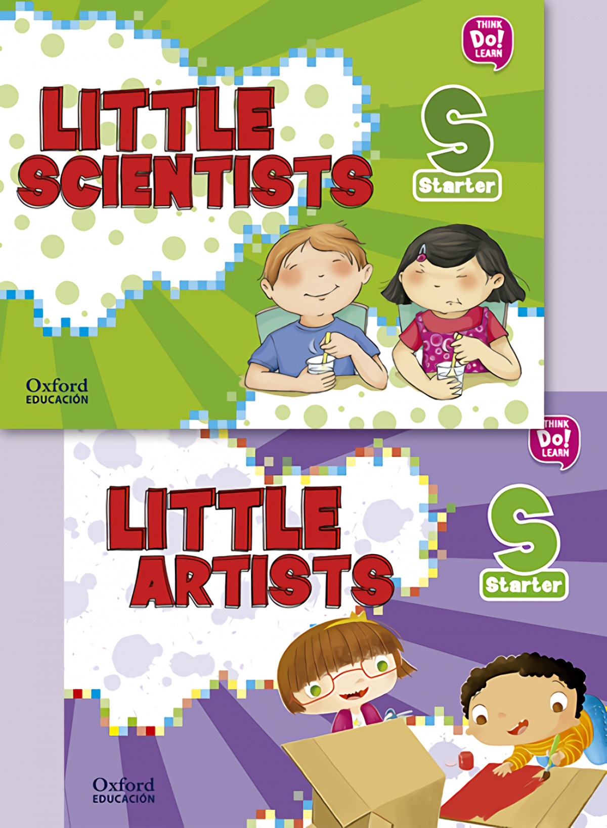 (17).LITTLE ARTIST & LITTLE SCIENTISTS STARTER.(PACK)