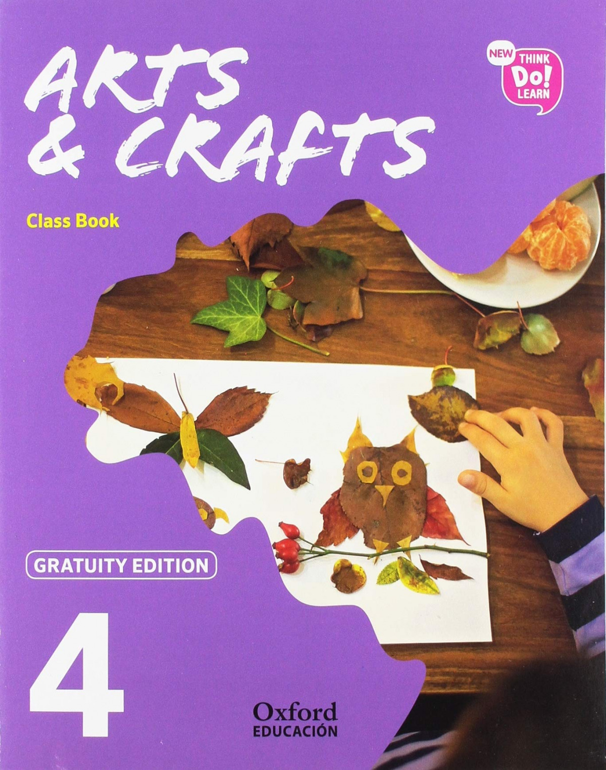 (19).NEW ARTS & CRAFTS 4ºPRIM.(GRATUITY)* CLASSBOOK *NO FUNG