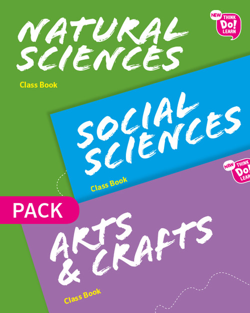 (MAD).(19).N.THINK NATURAL+SOCIAL+ARTS 4ºPRIM (LIBROS) PACK