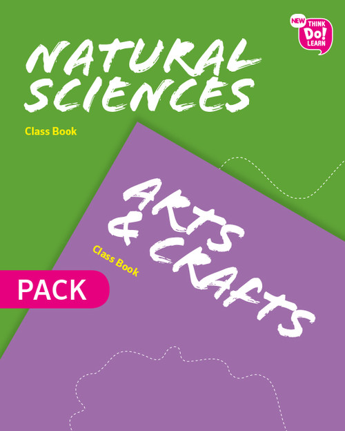 NATURAL SCIENCE WITH ARTS AND CRAFTS 4 PRIMARY CLASSBOOK PACK NEW THINK DO LEARN