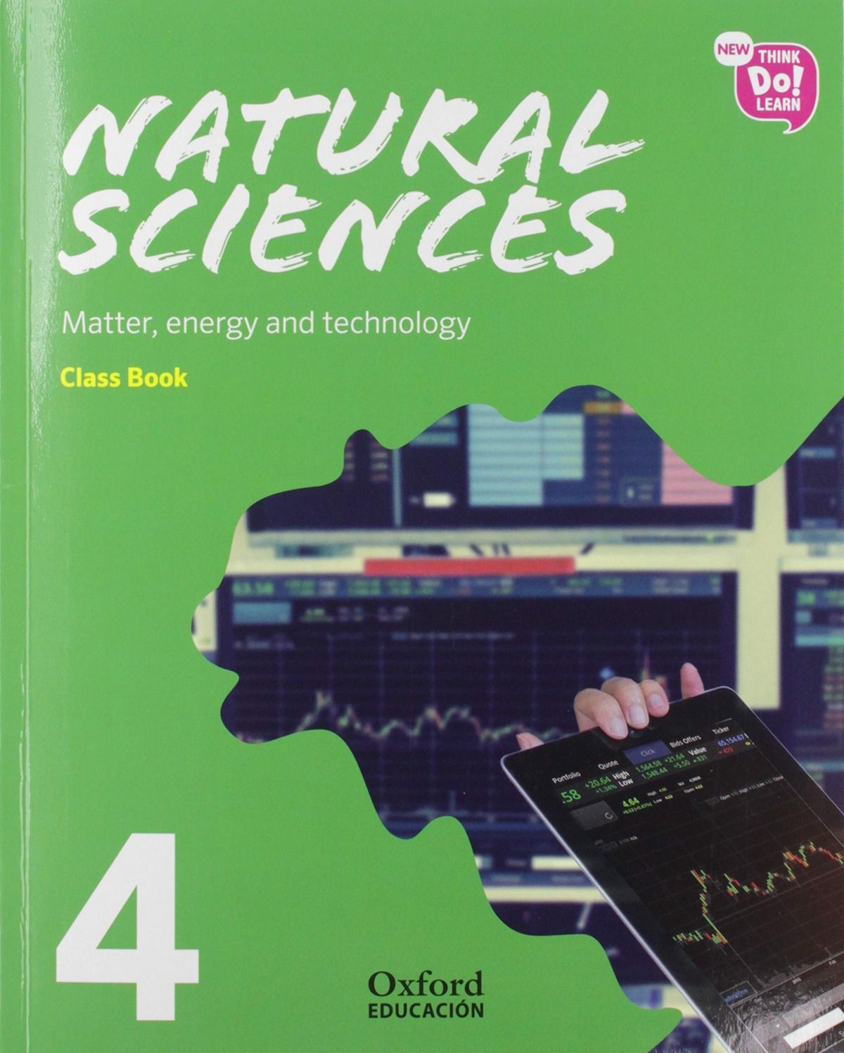 NATURAL SCIENCE 4 PRIMARY COURSEBOOK PACK NEW THINK DO LEARN