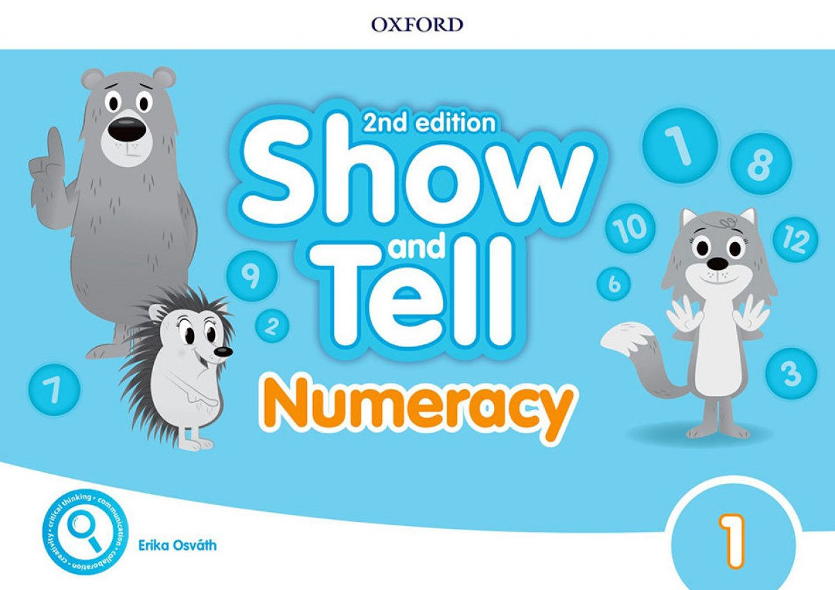 SHOW AND TELL 1 NUMERACY BOOK SECOND EDITION