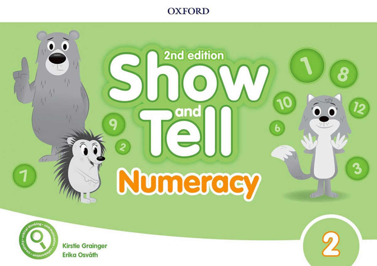 SHOW AND TELL 2 NUMERACY BOOK SECOND EDITION