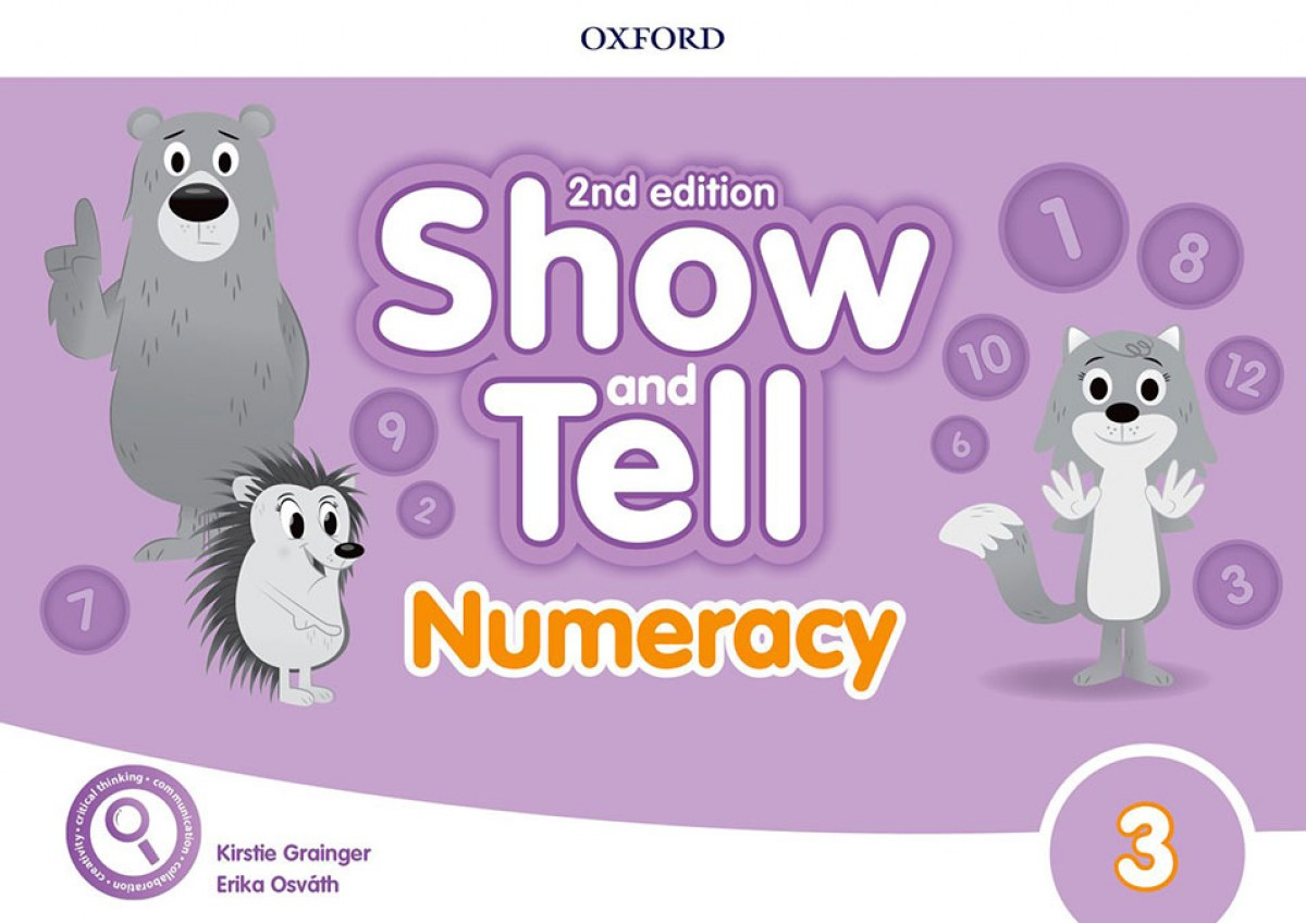SHOW AND TELL 3 NUMERACY BOOK SECOND EDITION
