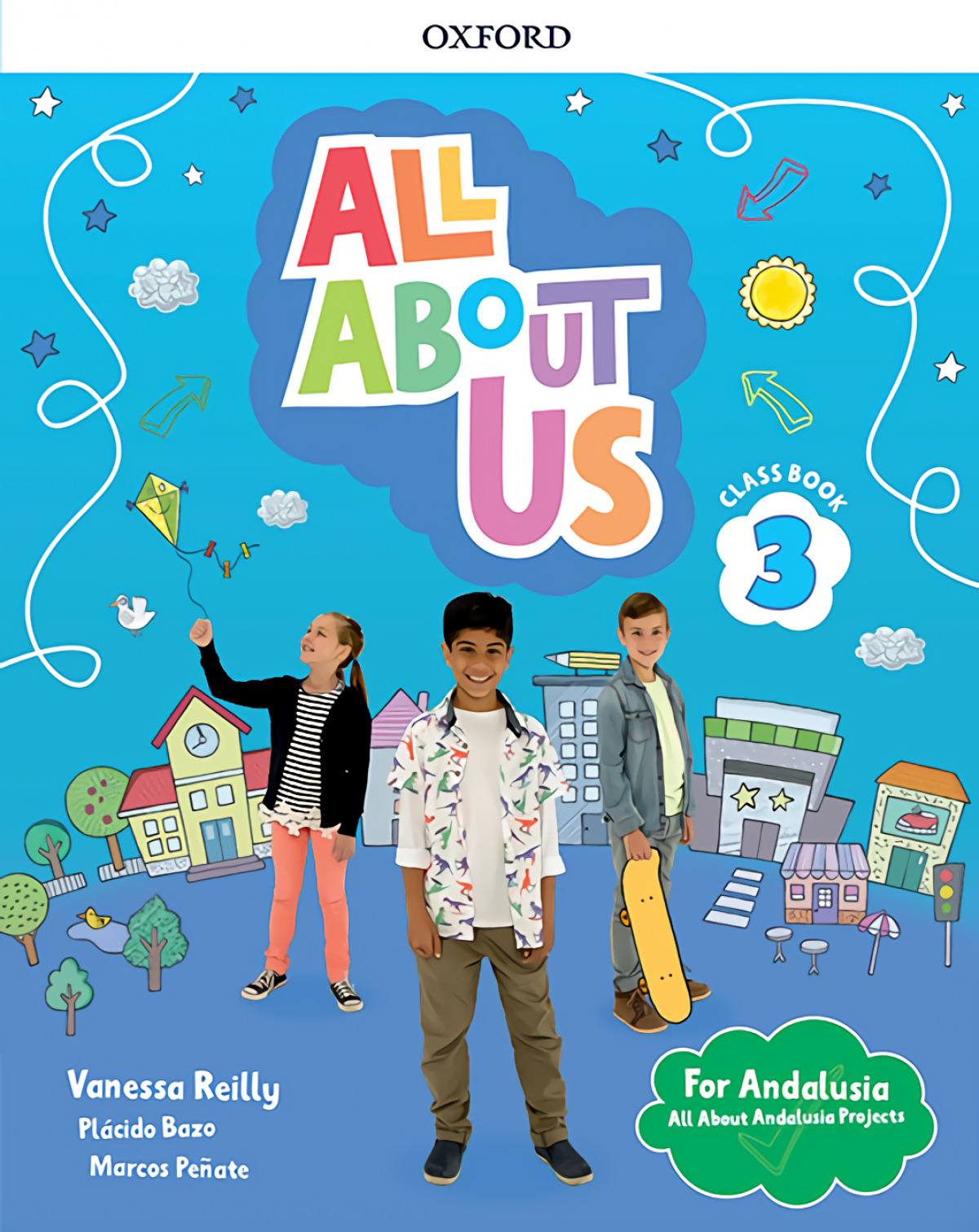 ALL ABOUT US 3 PRIMARY COURSEBOOK PACK ANDALUCIA