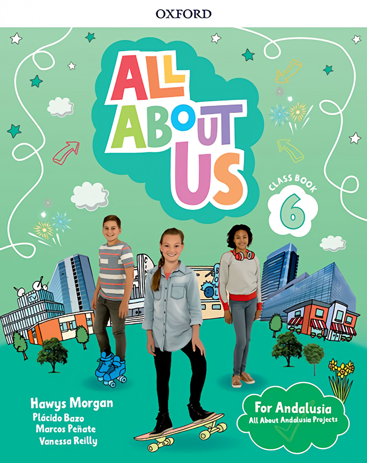 ALL ABOUT US 6 PRIMARY COURSEBOOK PACK ANDALUCIA