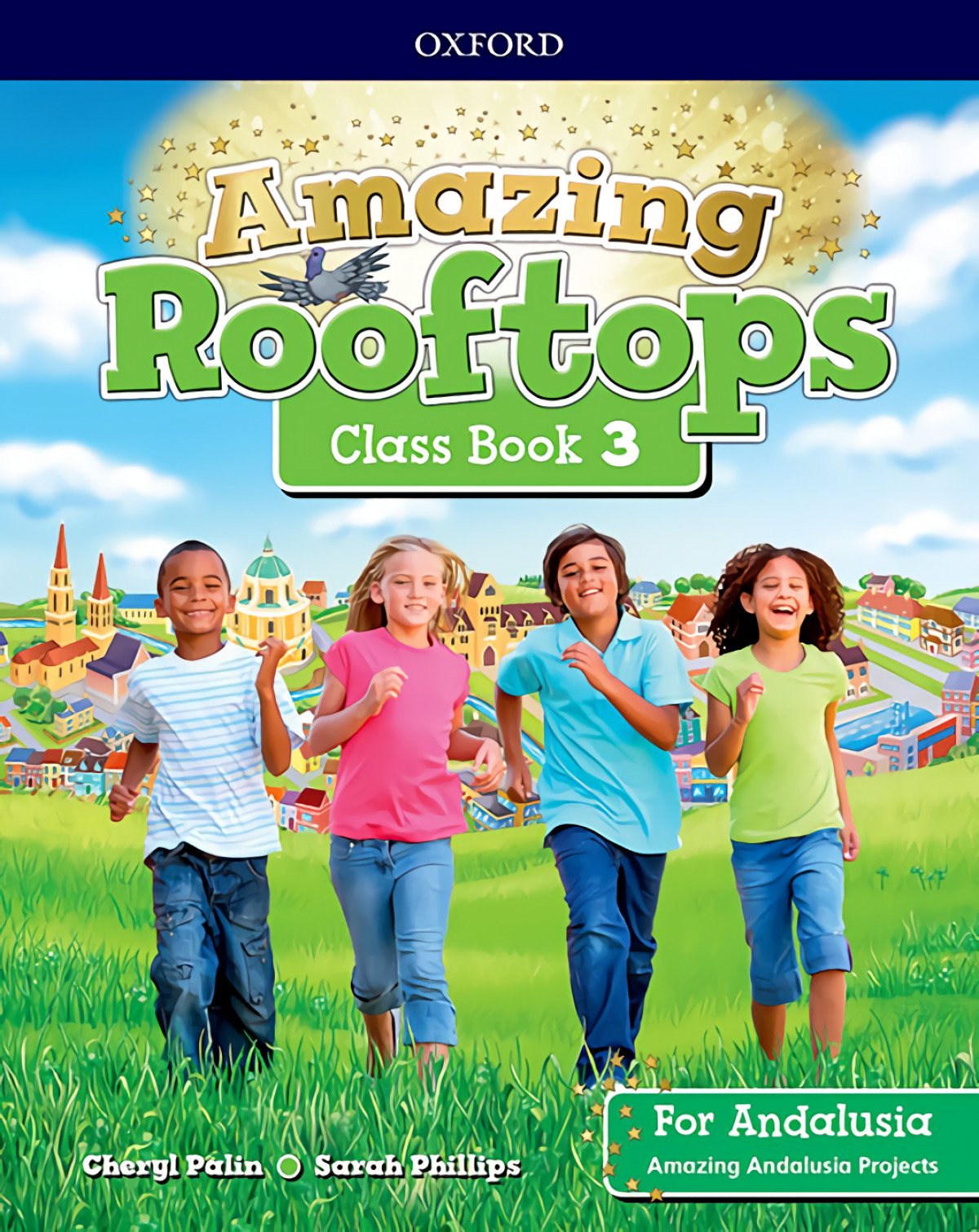 AMAZING ROOFTOPS 3 PRIMARY COURSEBOOK ANDALUCIA