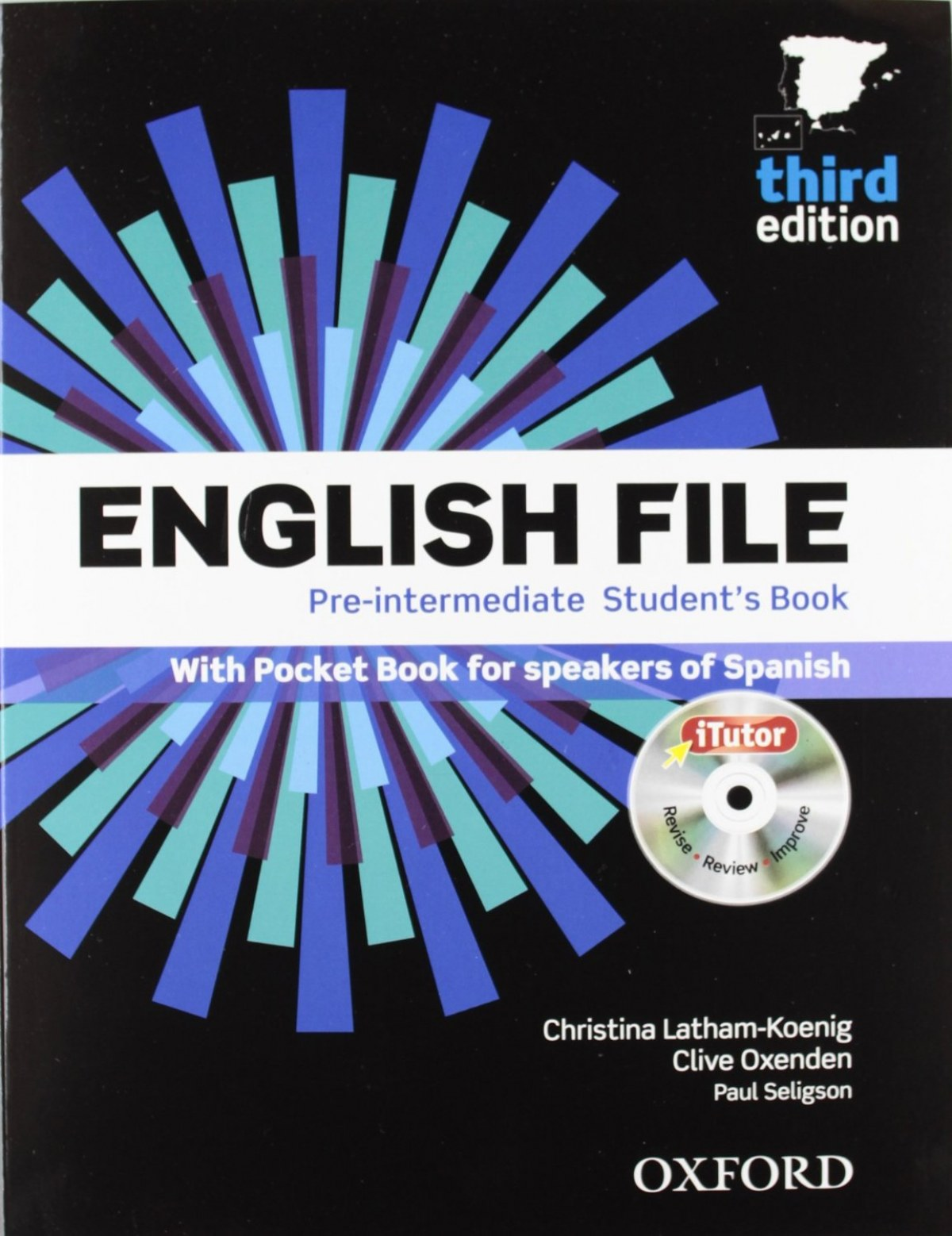 (12).(PACK+KEY).ENGLISH FILE PRE-INT.(3A.ED) (WITH ITUTOR)