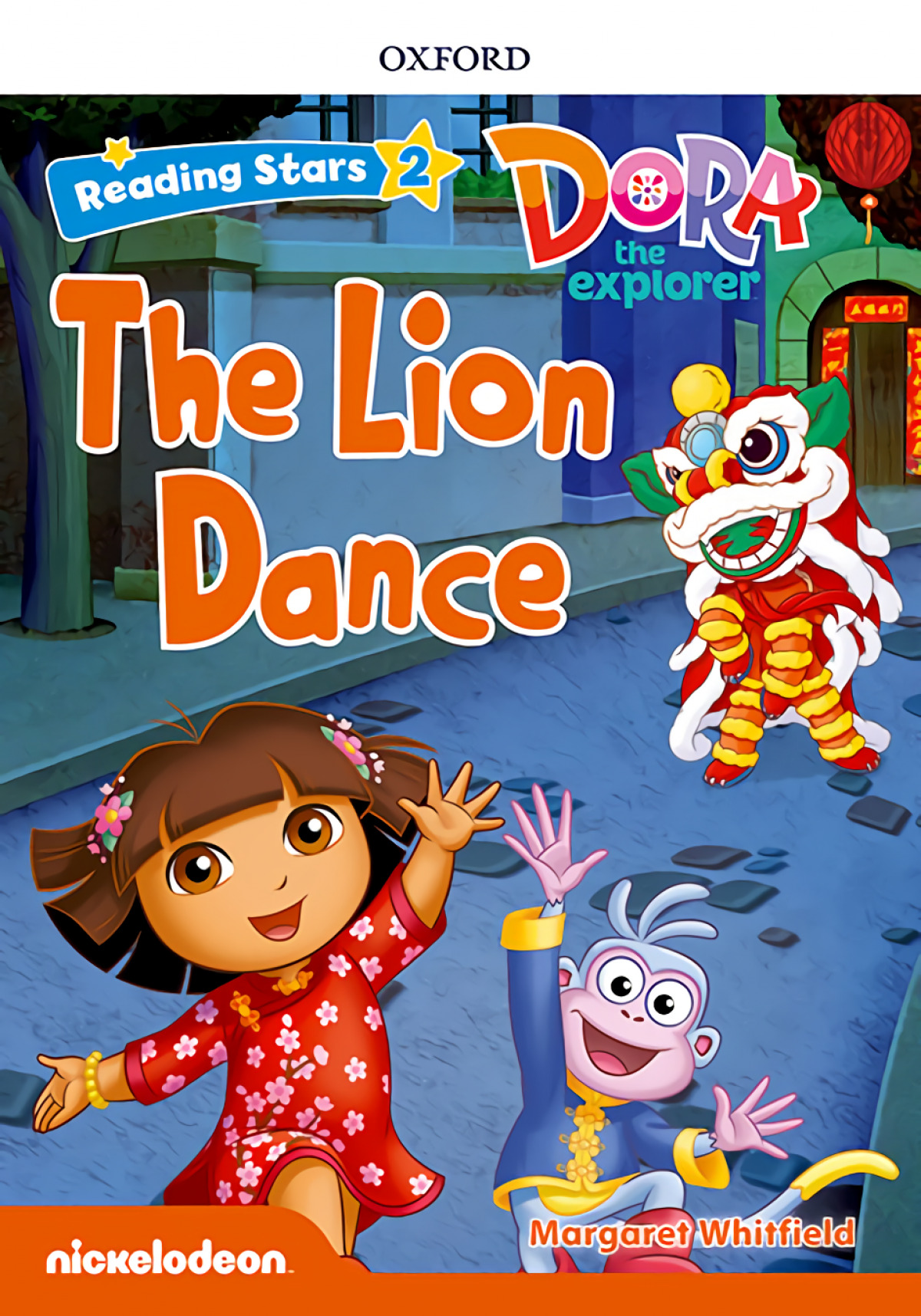 DORA THE EXPLORER THE LION DANCE WITH +MP3 PACK READING STARS 2