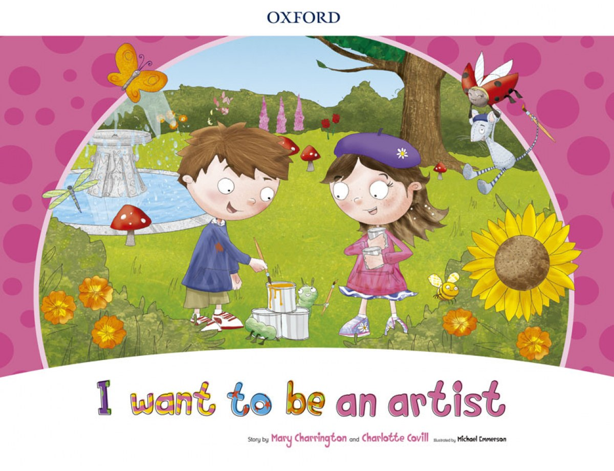 I WANT TO BE AN ARTIST (STORYBOOK) PACK