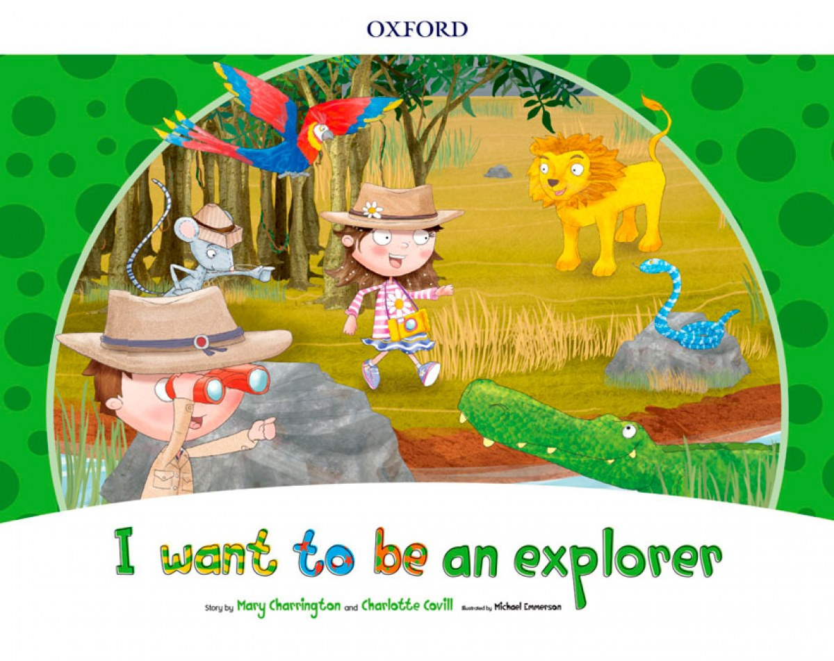 I WANT TO BE AN EXPLORER (STORYBOOK) PACK