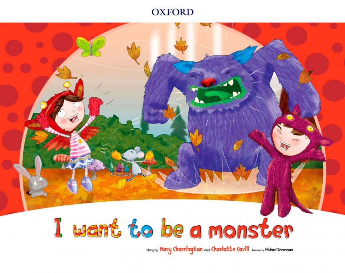 I WANT TO BE A MONSTER (STORYBOOK) PACK