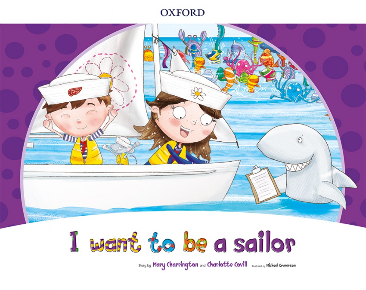 I WANT TO BE A SAILOR (STORYBOOK) PACK