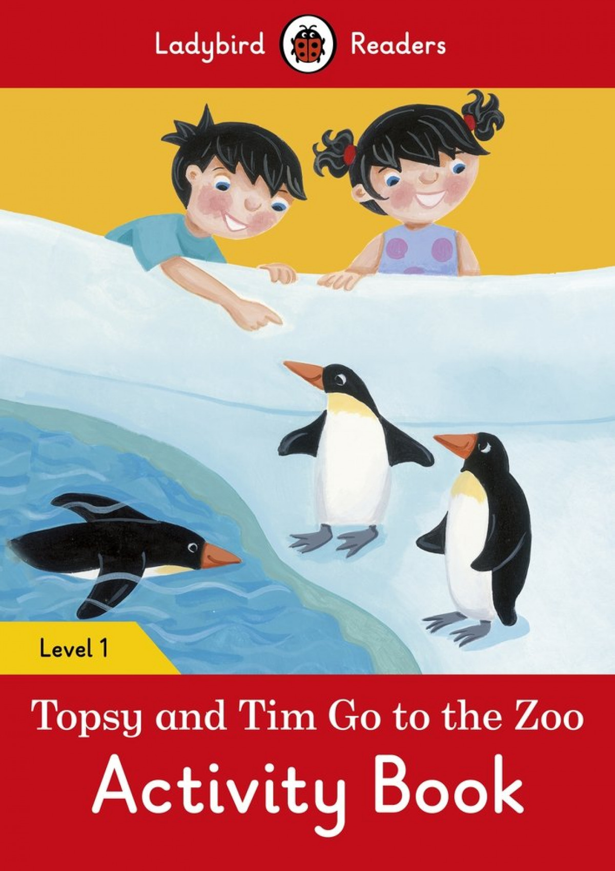 GO TO THE ZOO. TOPSY AND TIM. ACTIVITY BOOK