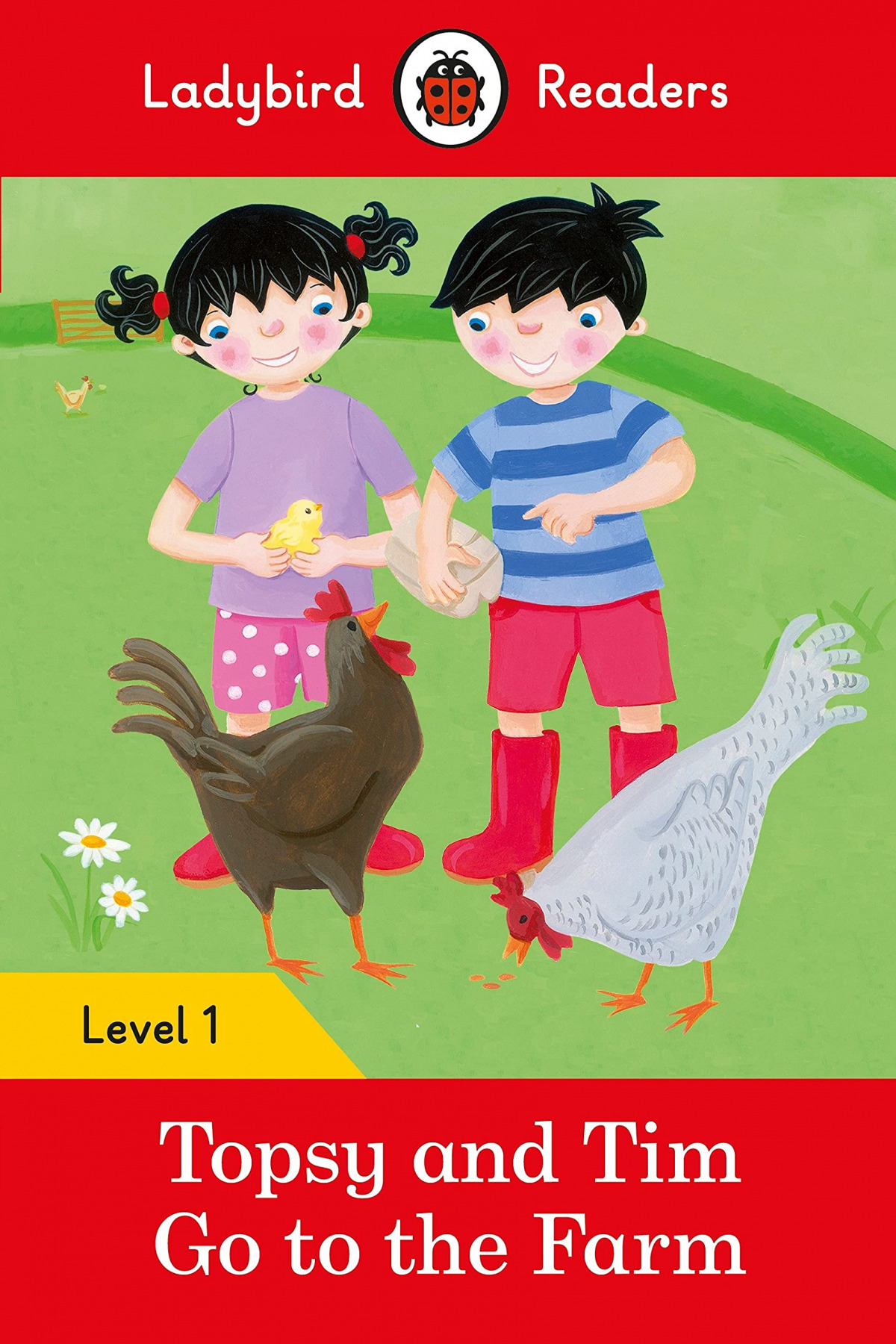 GO TO THE FARM. TOPSY AND TIM