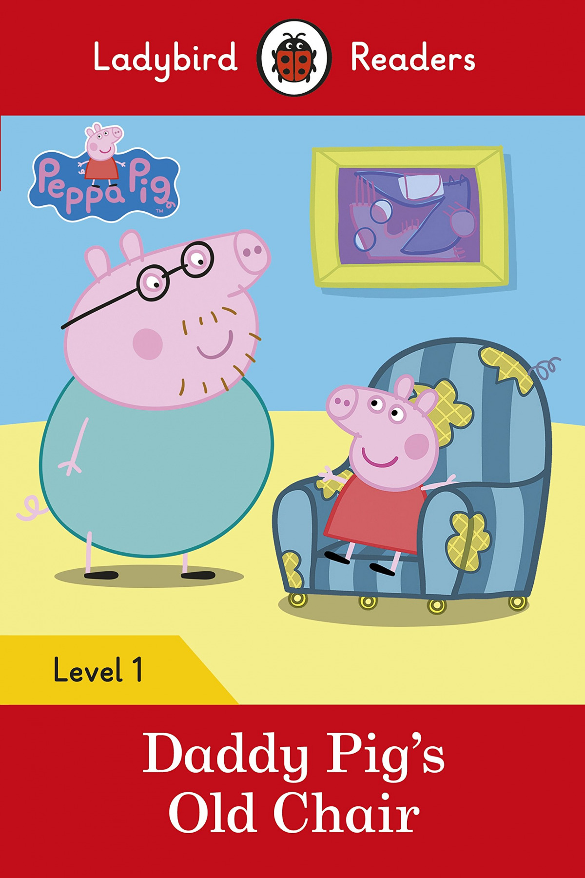DADDY PIG'S OLD CHAIR. PEPPA PIG