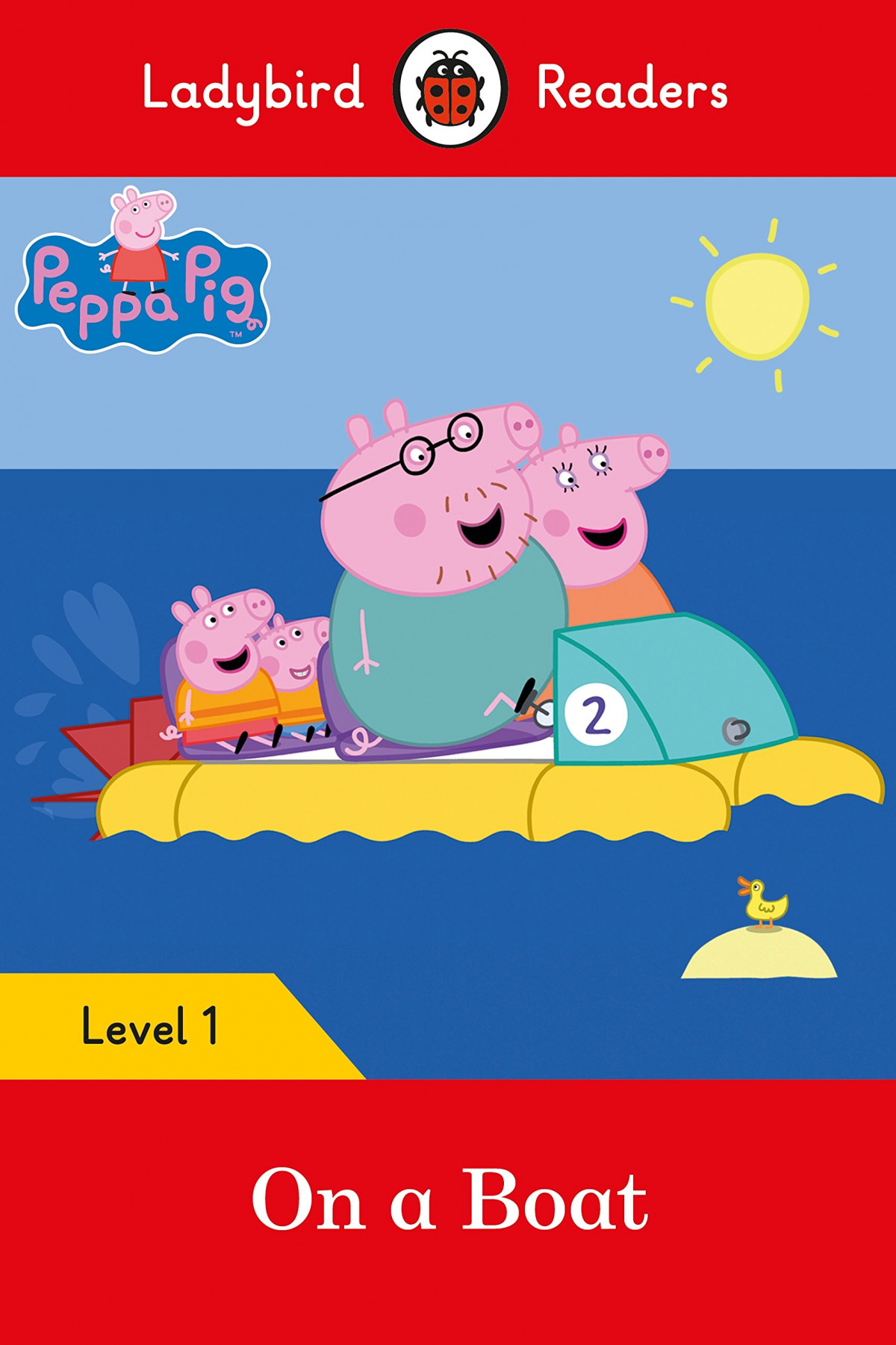 ON A BOAT. PEPPA PIG