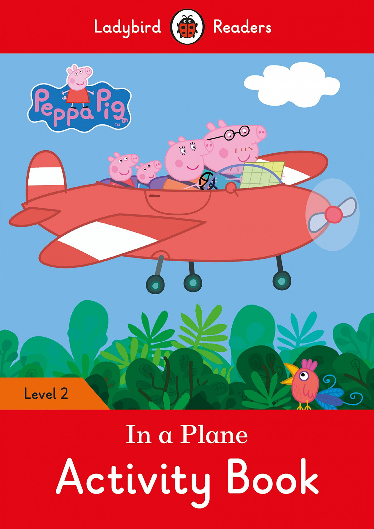 IN A PLANE. PEPPA PIG. ACTIVITY BOOK