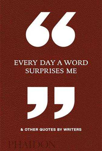 EVERY DAY A WORD SURPRISE ME