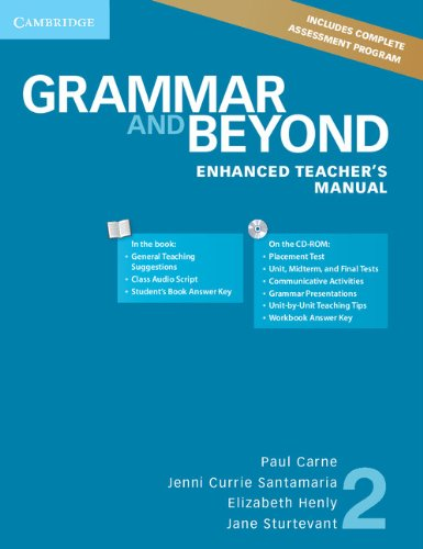 (TCH).GRAMMAR AND BEYOND 2 ENHACED.(+CD)